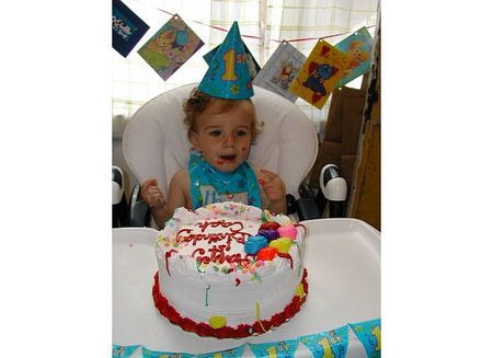 Cash's first birthday