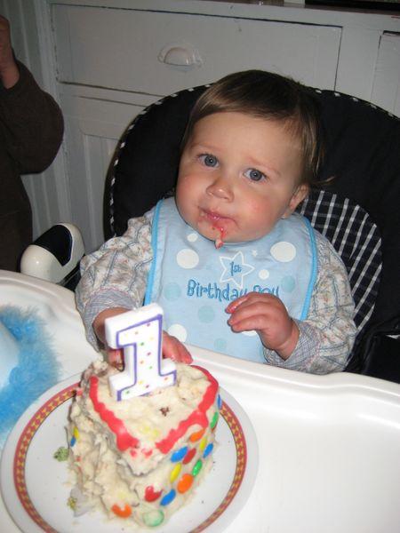 Catcher's 1st Birthday 2009 036
